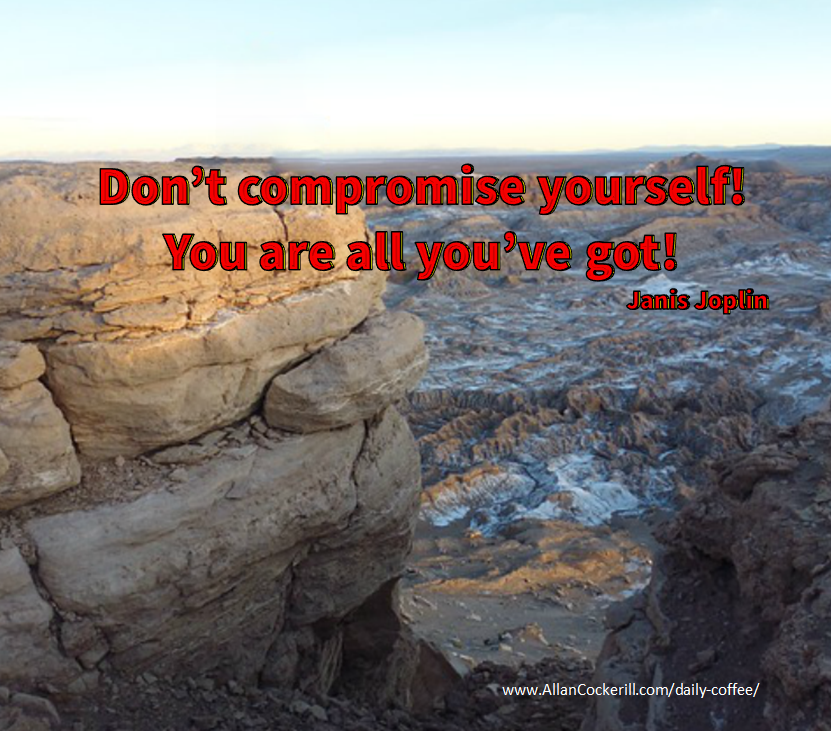 Don't compromise yourself!